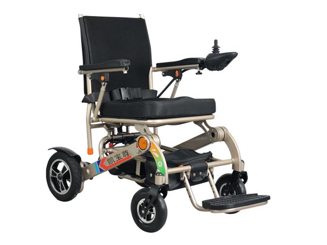 轻便折叠电动轮椅
