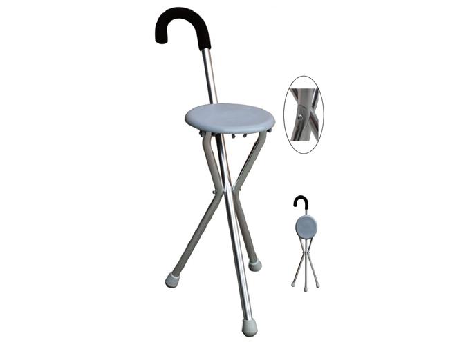 LR-8908手杖三脚凳折合