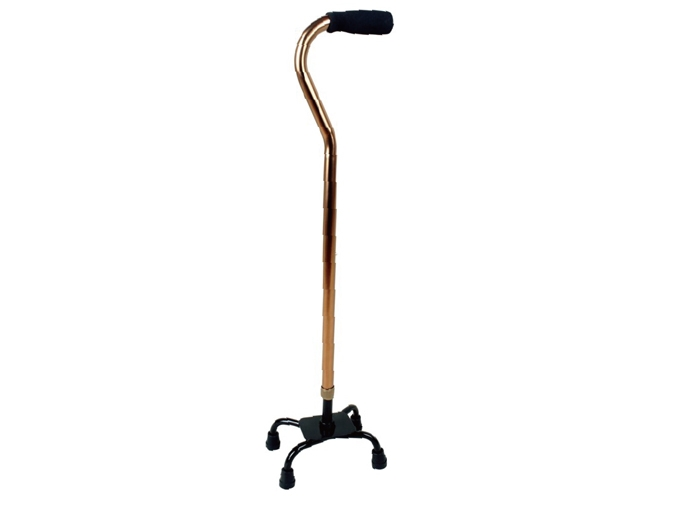 LR-8903古铜色小四脚拐杖