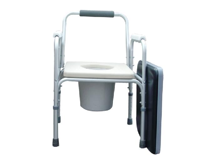 LR-8807铝合金带软坐垫座厕椅
