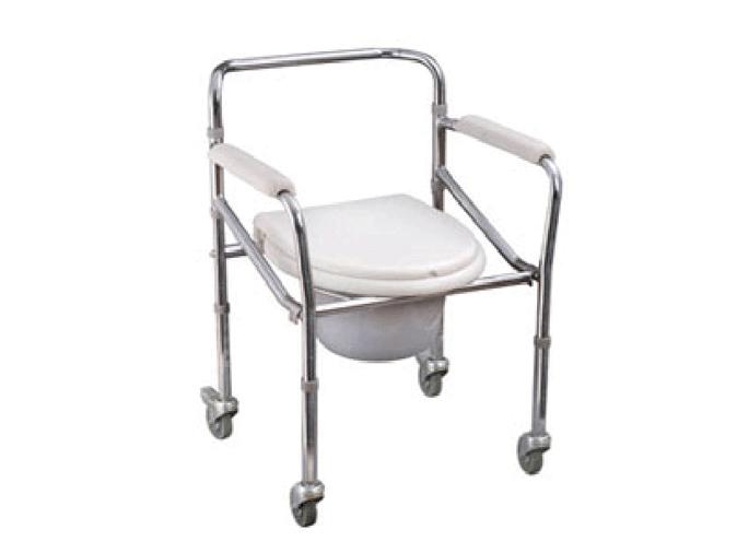 KR-8805B喷涂带轮折叠式座便椅