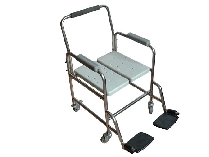 LR-8806E带轮不锈钢洗澡椅