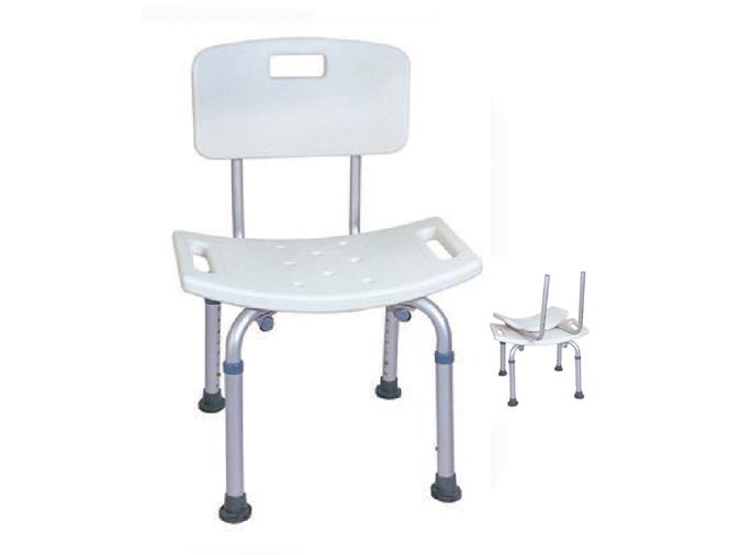 LR-8806A铝合金洗澡椅(靠背可拆卸)