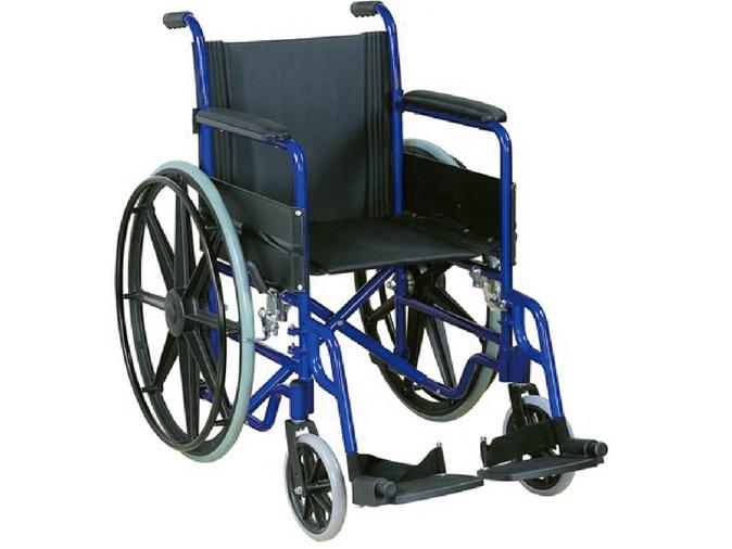 LR-8400加强型喷漆轮椅