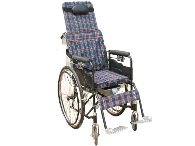LR-8420全躺喷涂轮椅