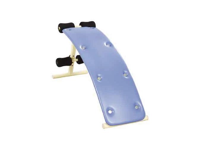 弧形腹肌训练器(高度可调节)