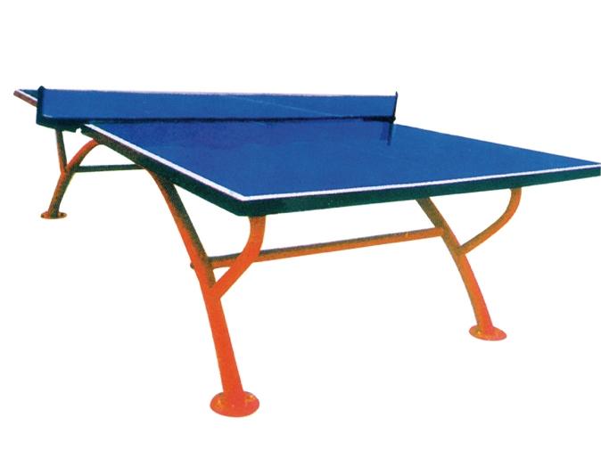 LR-9203小彩虹单折室外乒乓球桌