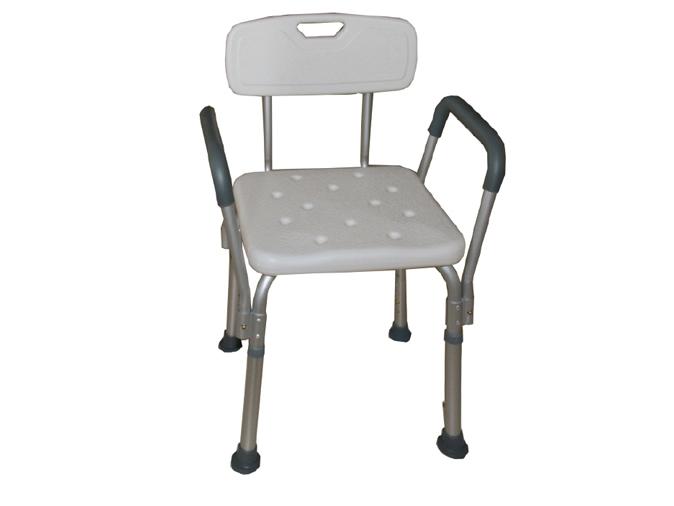 LR-8806F铝合金带扶手洗澡椅
